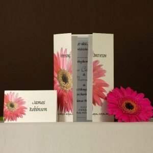 Gerbera Wedding Stationery