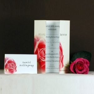 Pink Rose Wedding Stationery