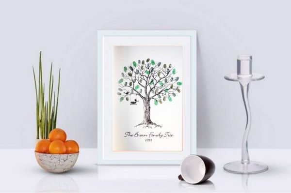 Family Fingerprint Tree- Personalised