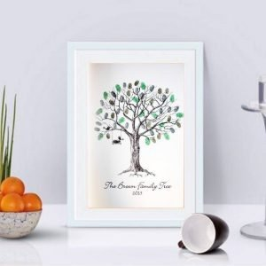 Fingerprint Trees & Fingerprint Guest Books