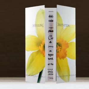 Yellow Daffodil Wedding Stationery
